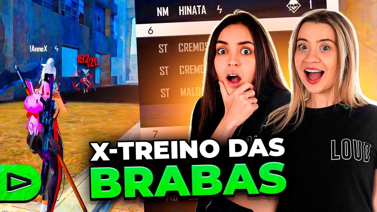 XTREINO DAS MENINAS NA LOUD FREE FIRE!