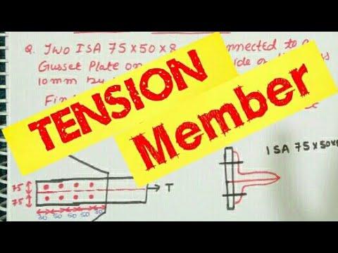 D&s_1: lesson 9. Design of tension member.