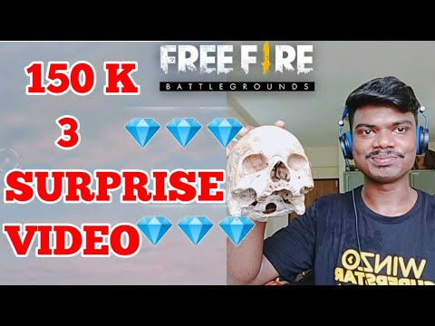 Free fire Win free elite pass in everyday- 3 Surprise for Subcriber Family | 150K Special ||PVS🇮🇳