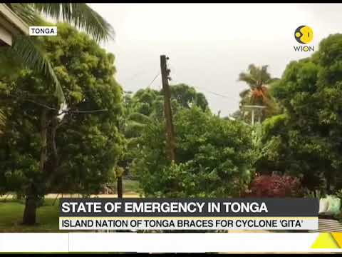"Tonga braces for cyclone ""Gita""; Tonga government declares state of emergency"