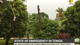 "Tonga braces for cyclone ""Gita""; Tonga government declares state of emergency"