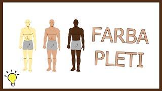 Aký je význam FARBY PLETI?