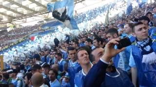 derby coppa italia roma lazio 0-1 senad lulic curva nord