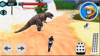 Bike Racing Dino Adventure 3D Game #Dirt Motorbike Racer Games To Play