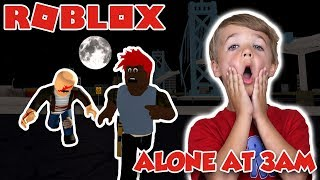 I AM ALONE AND SCARED in ROBLOX AT 3 AM (ZOMBIE APOCALYPSE SURVIVAL)