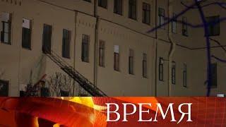 В петербургском университете информационных технологий рухнули перекрытия с пятого по второй этажи.