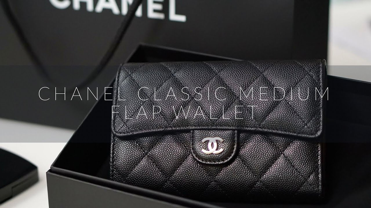 ����������������������������������������� chanel classic flap wallet �����