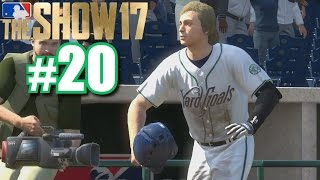 SKYWALKER'S FIRST WALK-OFF HOME RUN! | MLB The Show 17 | Road to the Show #20