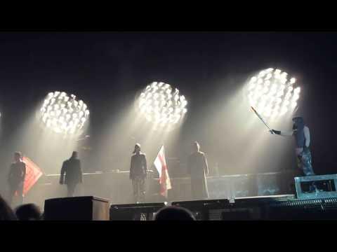 Rammstein Full Intro & Sonne, Newcastle 29/02/2012 Metro Radio Arena, HD