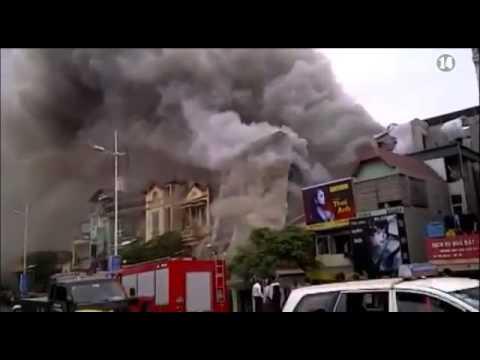 [114] - Đến 2015, xe cứu hỏa tại Hà Nội có thể đến hiện trường sớm hơn