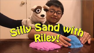 Silly Sand with Riley!