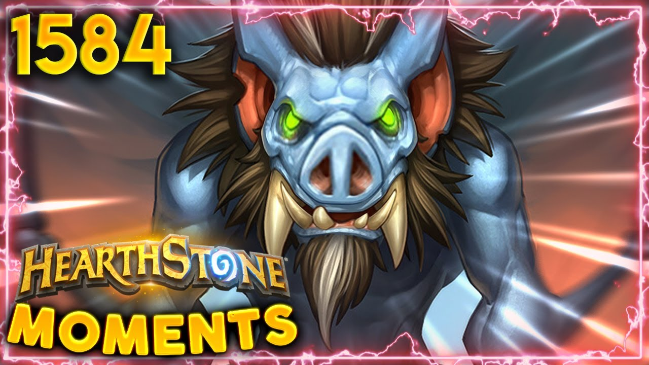 Devolve Makes My Minions A LOT BIGGER!! | Hearthstone Daily Moments Ep.1584 thumbnail