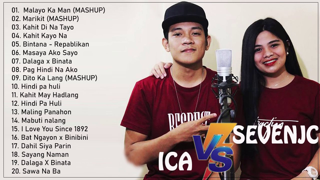 Download SEVENJC AND ICA NONSTOP PLAYLIST   SEVENJC AND ICA LOVE SONGS COLLECTION 2020
