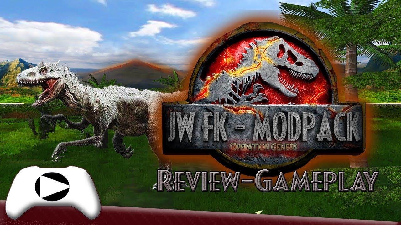 JPOG Jurassic World FALLEN KINGDOM: Review-GAMEPLAY (PC ...