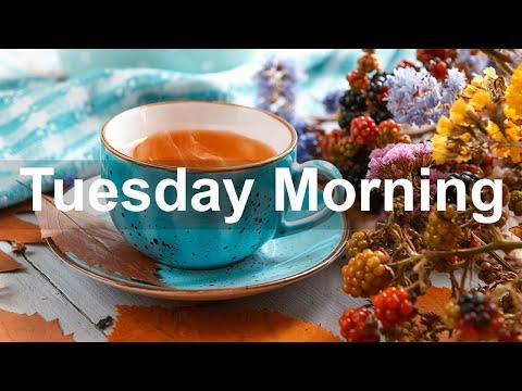 Tuesday Morning Jazz - Positive Bossa Nova & Autumn Vibes Jazz Music