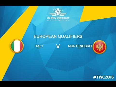 CS:GO - Italy vs. Montenegro[Cache] - TWC 2016