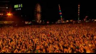 Sameera oxford Jay-Z brings out Kanye West for Run This Town, Isle of Wight Festival '10