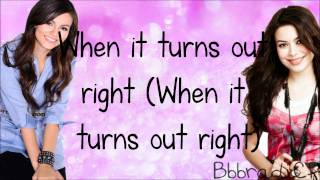 Victorious/iCarly- Leave It All to Shine (Lyrics)