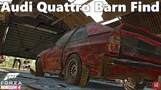 Forza Horizon 4: Audi Quattro Barn Find Location