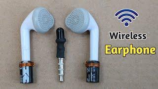 How to make Wireless Earphone - Using Capacitor || Best Wireless Earphone - 2020