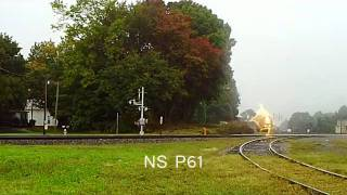 NS 55Z & P61 in the pourin