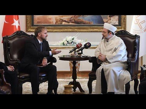 Başkan Görmez, Bosna Hersek Ankara Büyükelçisi Sadoviç'i kabul etti