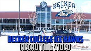 Becker College Ice Hockey Recruiting Video (NCAA DIII)