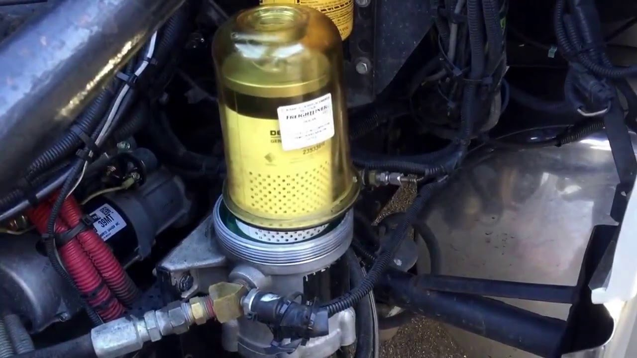 replace fuel filter - YouTube