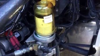 How to replace fuel filter