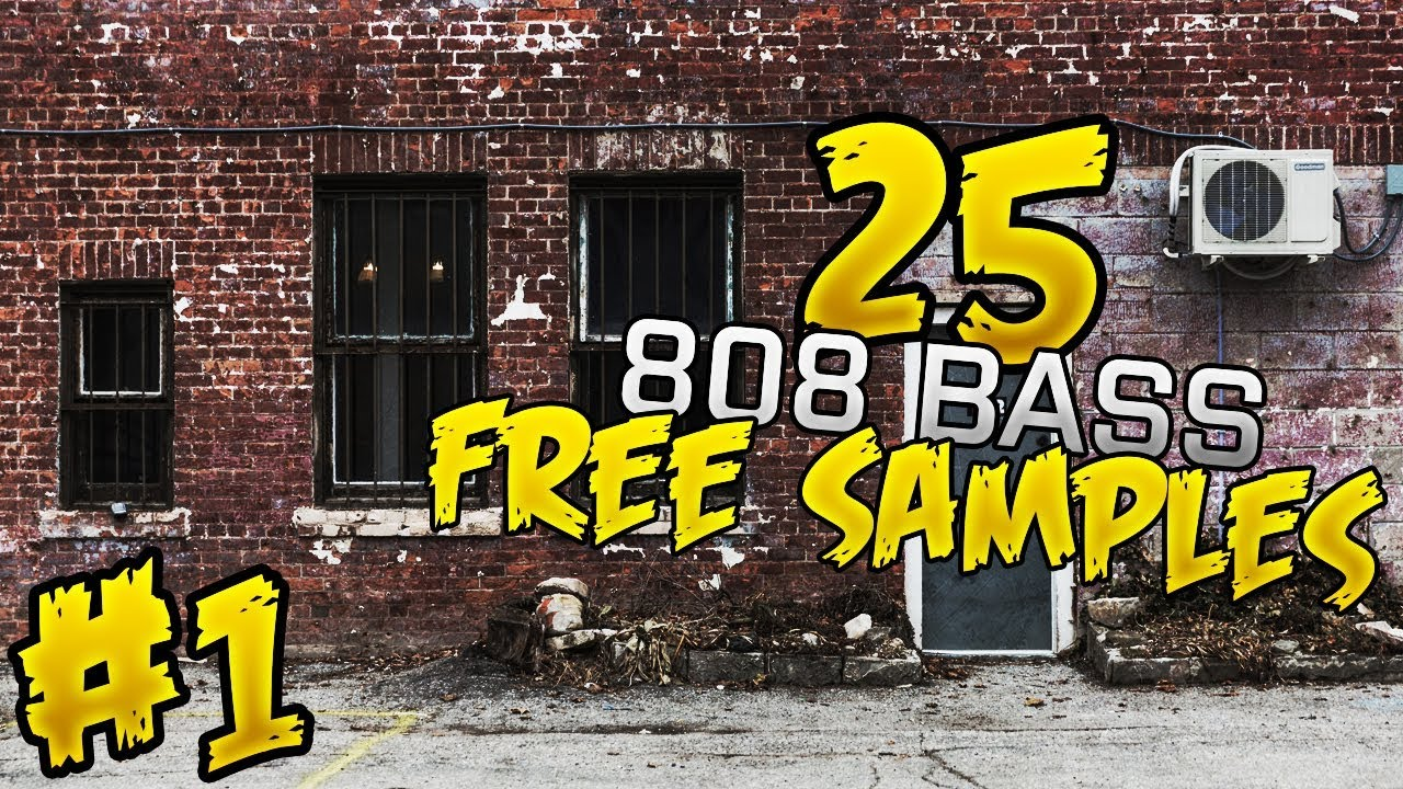 25 free 808 bass samples unique youtube.