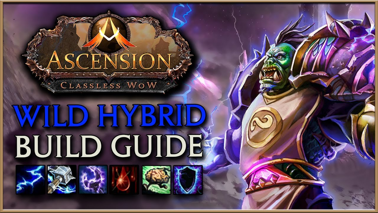 AWESOME Hybrid DPS Build - Project Ascension | WoW with Random Abilities