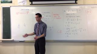 Substituting into an Algebraic Expression (Harder Example)