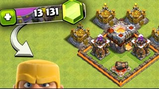"Clash of Clans: ""FARMING"" WITH 13,000 GEMS? LETS SPEND SOME!"
