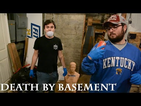 Cleaning Out the Basement! Pt. 1 (We Almost Died!)