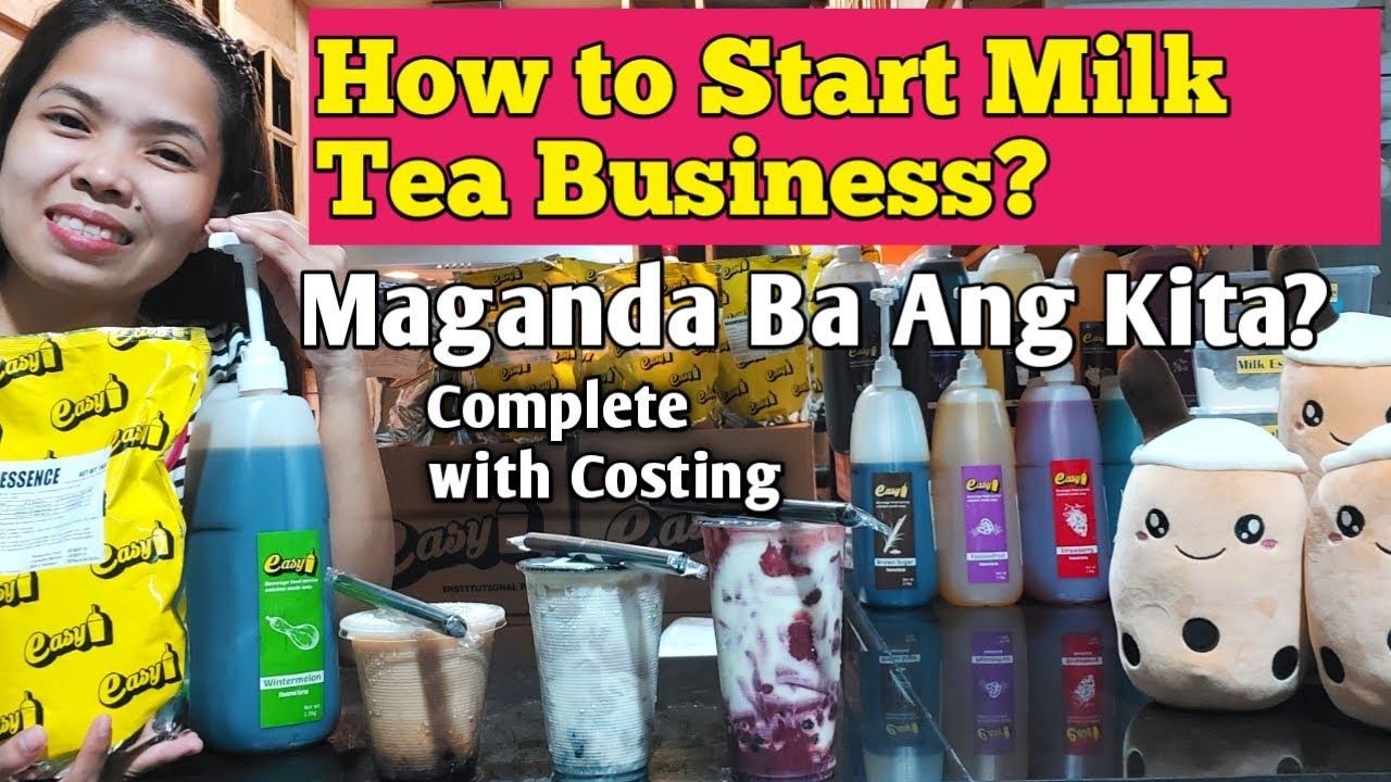Paano Magsimula ng Milk Tea Business Kahit Nasa Bahay Lang! And Giveaway Complete With Costing