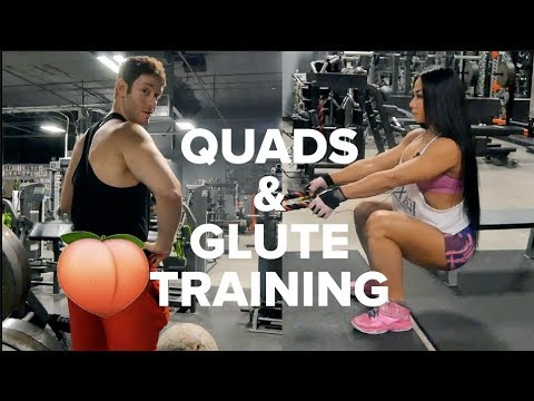 Quads and Glutes Training with Tina Nguyen IFBB Figure pro