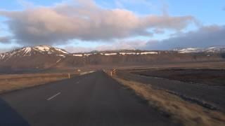 【アイスランド 3380km】 17 車載動画 12 スナイフェルス半島 4