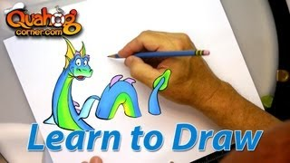 Quahog Corner: Drawing Lesson: Cyril the Sea Serpent