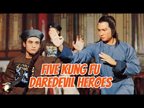 Wu Tang Collection - Five Kung Fu Daredevil Heroes