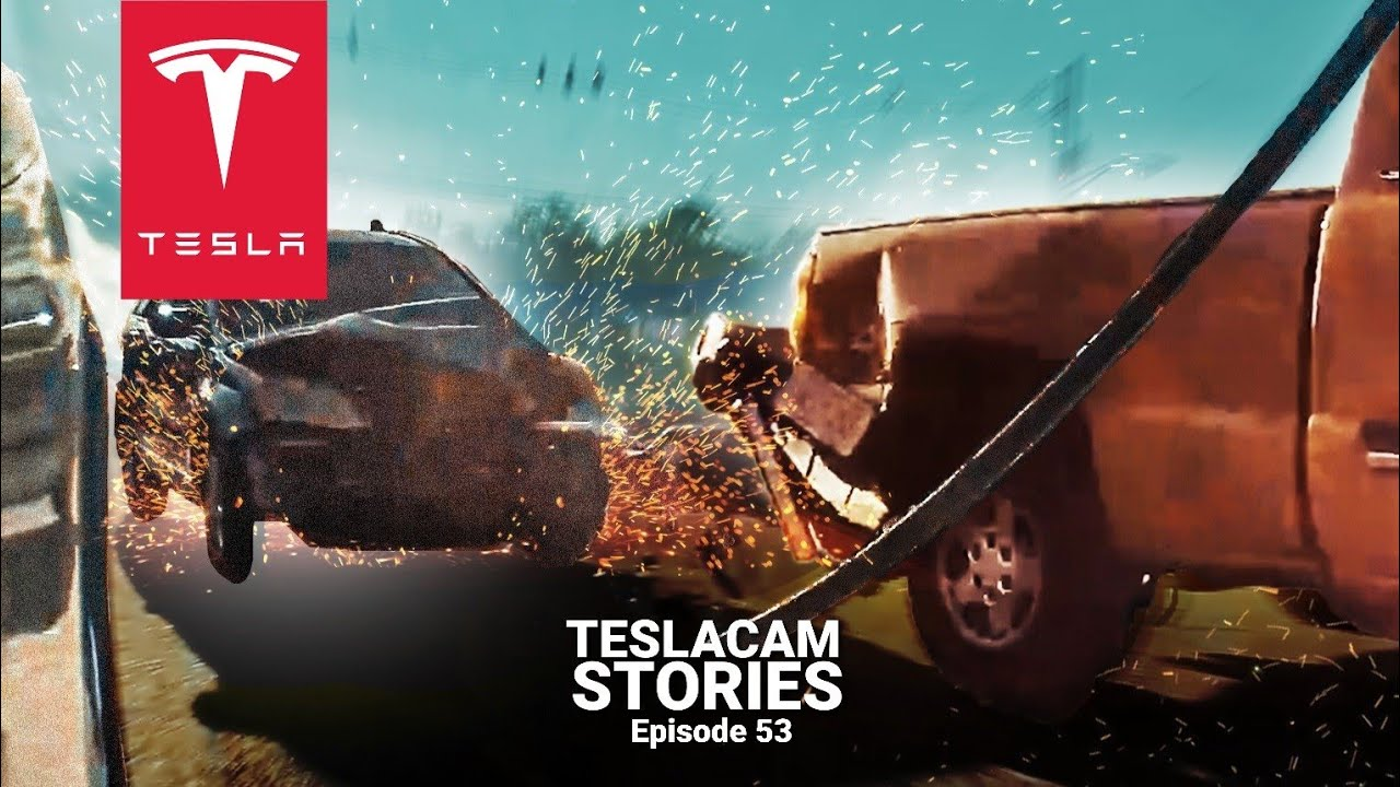 HONDA SMASHES INTO STOPPED CARS AT FULL SPEED | TESLACAM STORIES #53