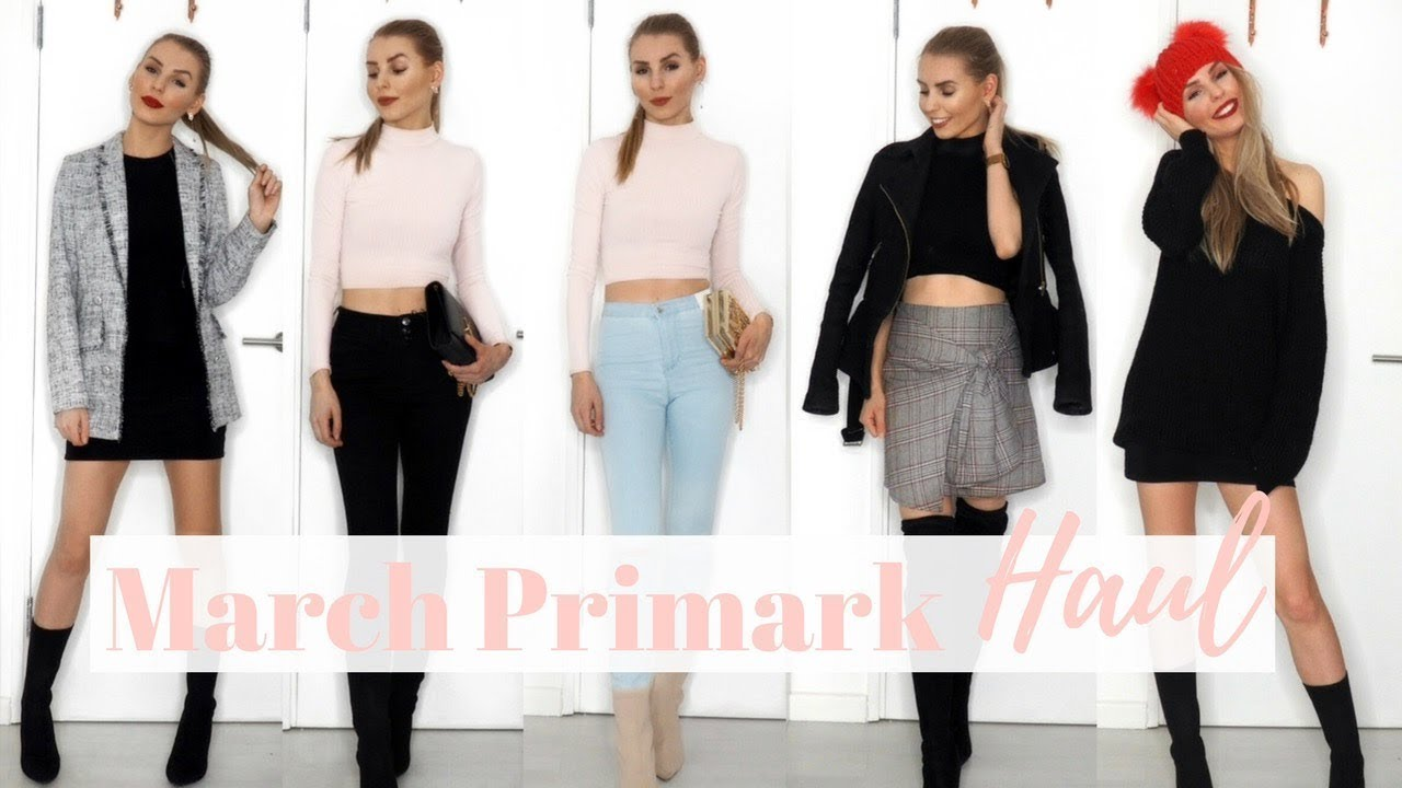 [VIDEO] - PRIMARK HAUL (TRY ON!) MARCH 2018 | SPRING OUTFITS | Designer Dupes From Primark?! 2