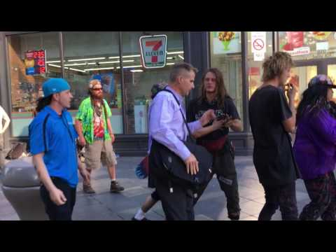 Assaults on The 16th St Mall - Denver, Colorado