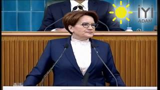 Sayın Meral Akşener'den Erdoğan'a yerini bil !