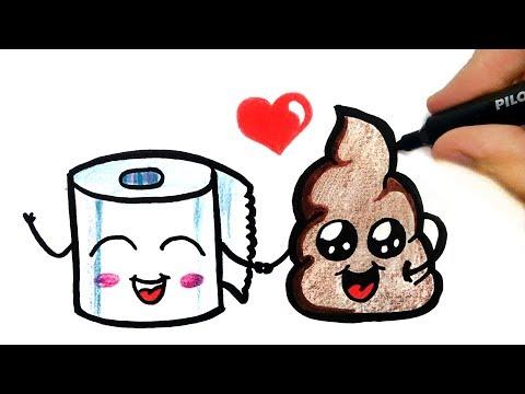How To Draw A Poo Emoji How To Draw Emoji Youtube