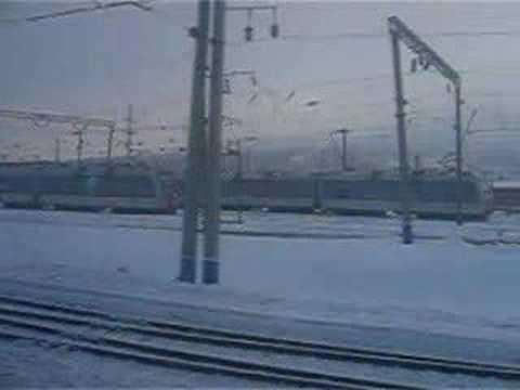 Прибытие на станцию Коршуниха-Ангарская