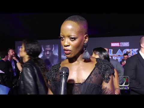 Black Panther on BlackTree TV: Florence Kasumba on the Dora Milaje
