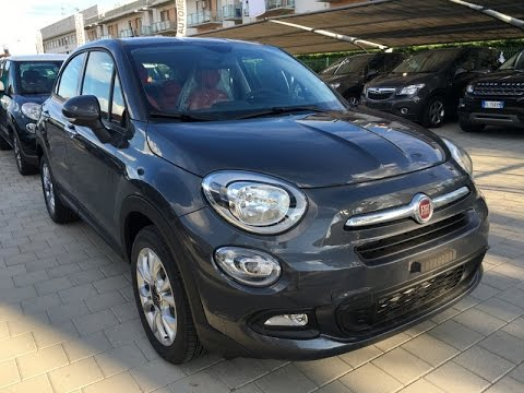 fiat 500x 1 6 mjet 120cv pop star km0 grigio moda youtube. Black Bedroom Furniture Sets. Home Design Ideas