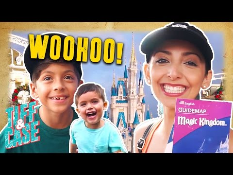 First Time At Disney World!!