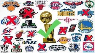 Top 10 NBA teams with No Championships (2019 Edition)
