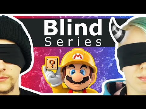 Super Mario Maker: Blindfold Challenge - I am your eyes